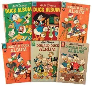 Duck Album: Lot of Ten Comics * Good * 1956-62