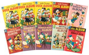 Duck Album: Lot of Ten Comics * Good * 1957-62
