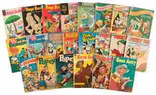 Dell: Lot of 22 Non-Disney Comics, 1950s-60s