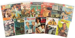 Lot of 26 DELL FOUR COLOR Comics, 1950s-1960s