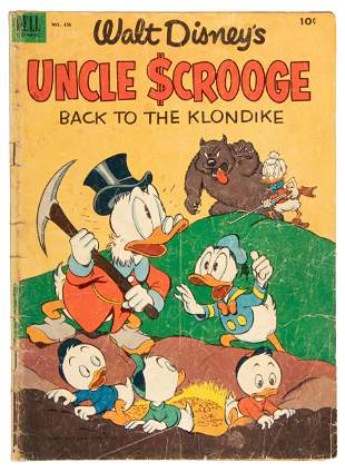 Uncle Scrooge * Dell Four Color #456 * Back to the
