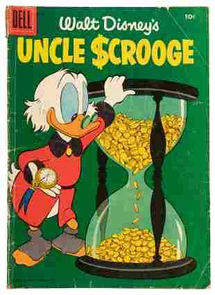 Uncle Scrooge No. 12 * Good * 1956
