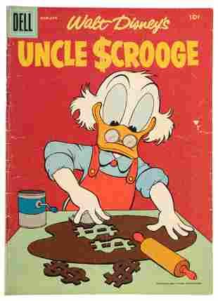 Uncle Scrooge No. 14 * Good/VG * 1956