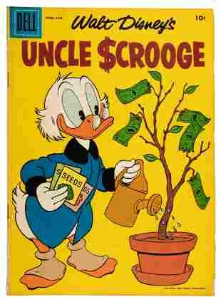 Uncle Scrooge No. 18 * VG- * 1957
