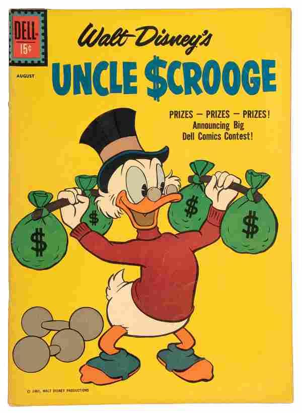 Uncle Scrooge No. 34 * VG * 1961