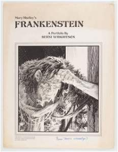Berni Wrightson's Frankenstein Portfolio, Signed