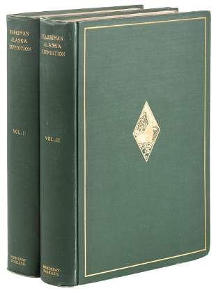 Volumes 1 & 2 of Harriman's Alaska