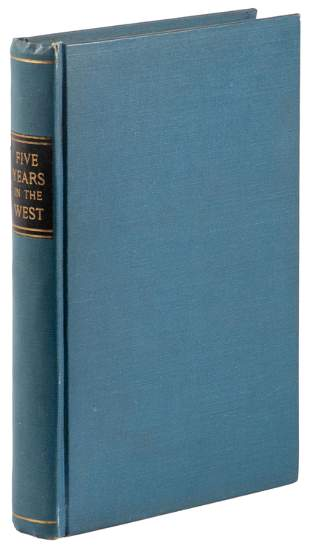 Five Years in the West, memoir of Texan, 1884