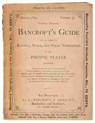Bancroft's Guide to Pacific States 1872