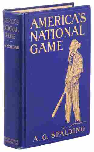 Spalding, America's National Game 1911