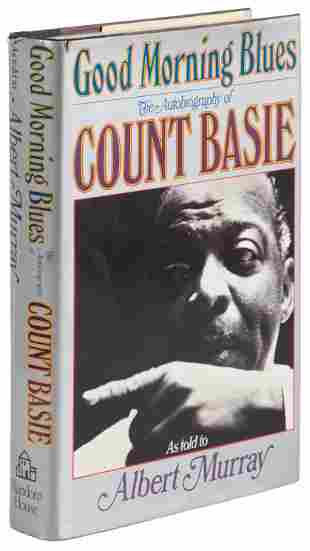 Autobiography of Count Basie signed by band members