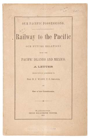 Our Pacific Possessions, 1861