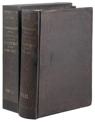 Expl & Surveys US Pacific RR Vol. XI atlas 1861