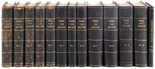 Nearly 130 years of Sierra Club Bulletins
