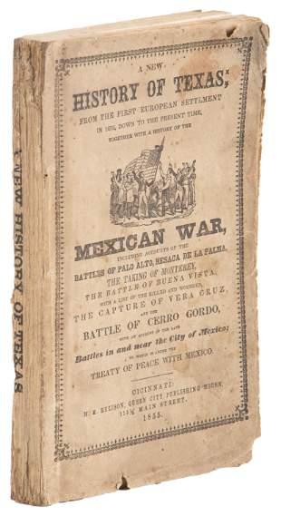 Stiff's History of Texas, 1855