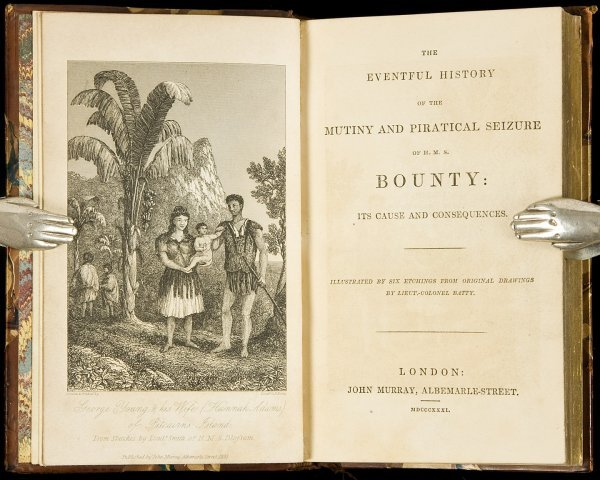 9: Eventful History of H.M.S. Bounty 1831