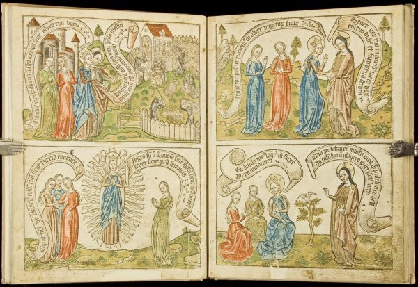 15: Hand-colored facsimile Song of Songs