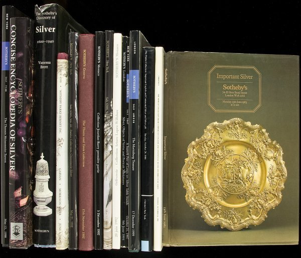 3: 32 auction catalogues for gold/silver collections