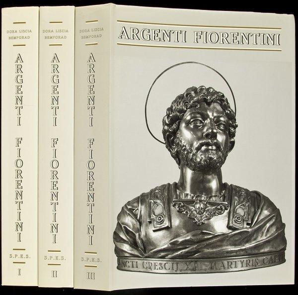 4: Argenti Fiorentini - silver census 3 vols. 1993