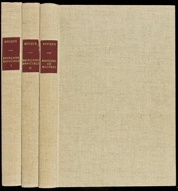 5: Dictionnaire de Poincons 3 vols. 1964-1976