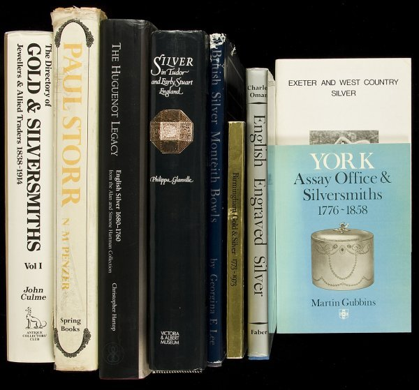 7: 39 books about British silverware & collectibles