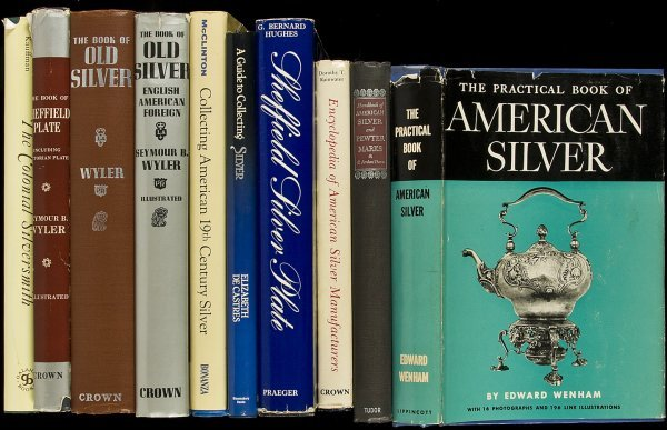 13: 15 books about silver collecting or collections