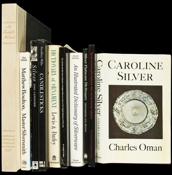 14: 24 books about silver collecting & related
