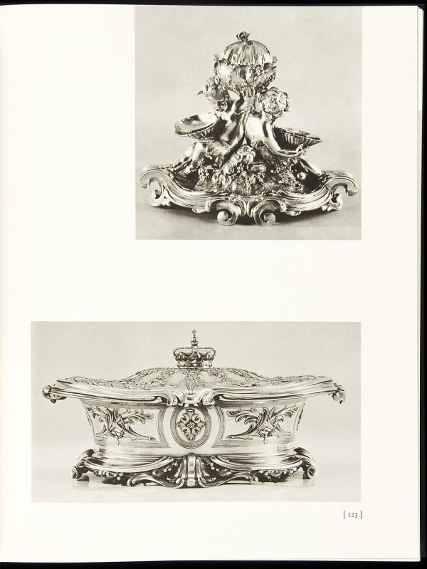 15: 2 vol. Three Centuries of French Domestic Silver