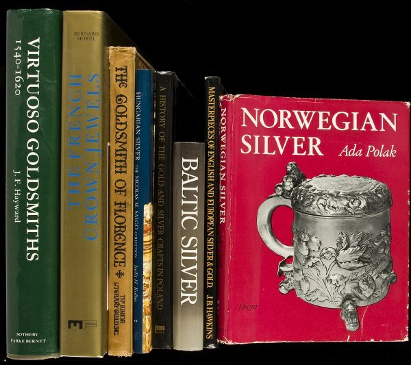 17: 25 books about European Silver and Collectibles