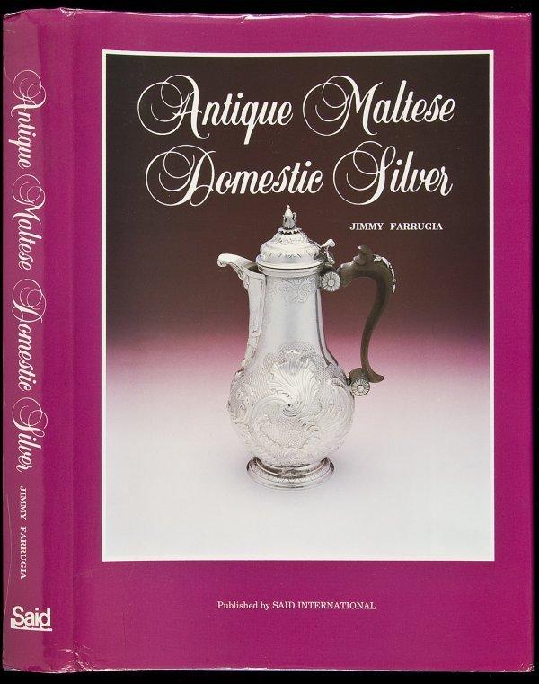 18: Antique Maltese Domestic Silver in dj, 1992