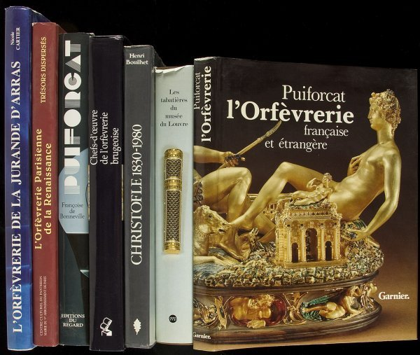 21: 15 volumes in French on European Silver and Gold