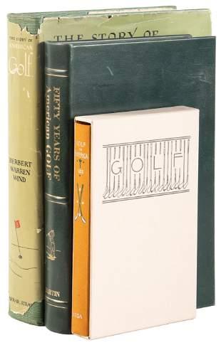 3 books on golf in America