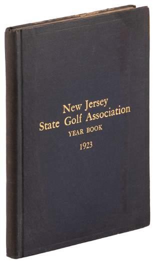 New Jersey State Golf Association Year Book 1923