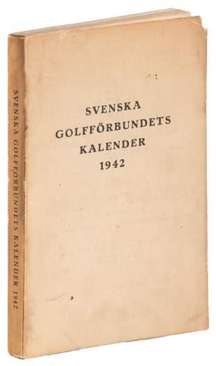 Swedish Golf Association 1942 annual