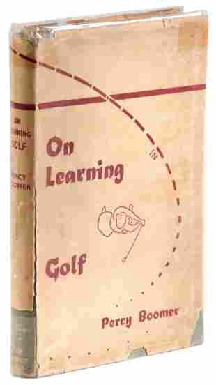 Boomer's On Learning Golf 1st Edition in dj