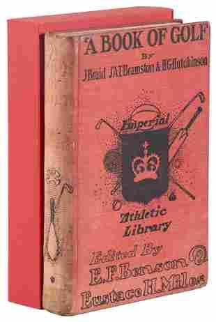 A Book of Golf by Braid, Bramston & Hutchinson