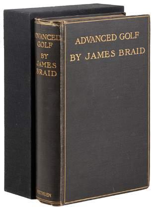 James Braid Advanced Golf First Edition