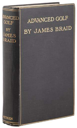 James Braid Advanced Golf 1911