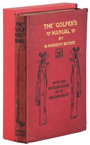 Butler's Golfer's Manual 1907