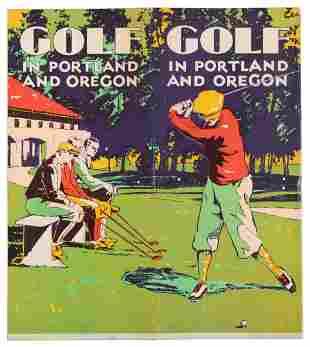 Golf in Portland and Oregon, c. 1930