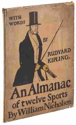 Almanac of Twelve Sports William Nicholson 1898