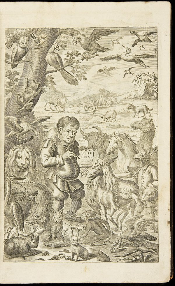 3: 2nd edition of Aesop's Fables 1694