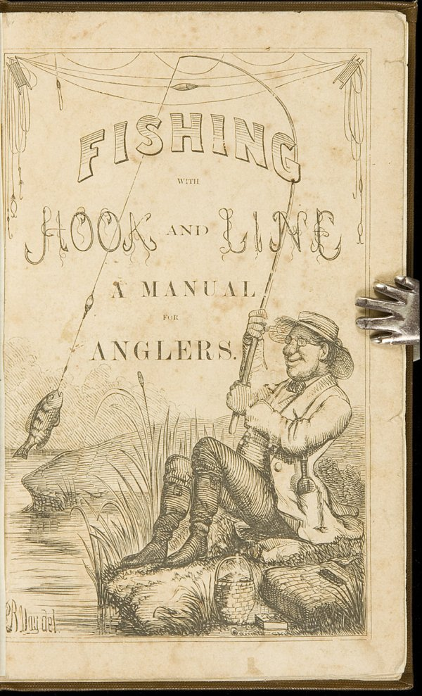 8: Fishing w/Hook & Line by F Forrester 1858