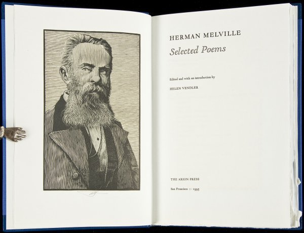 12: Herman Melville Selected Poems Arion Press 1995