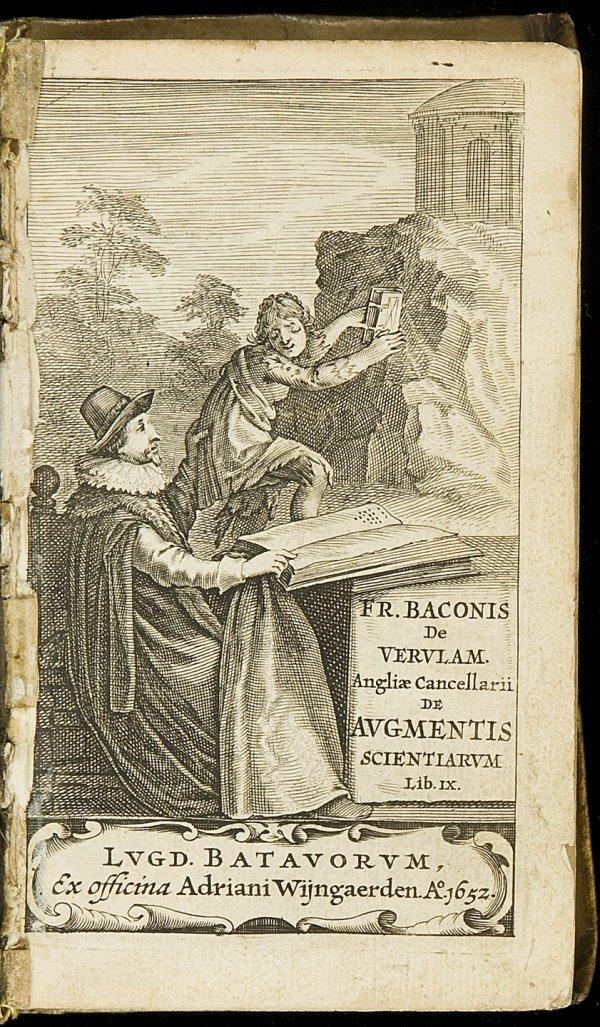 15: Bacon's De augmentis scientiarum 1652