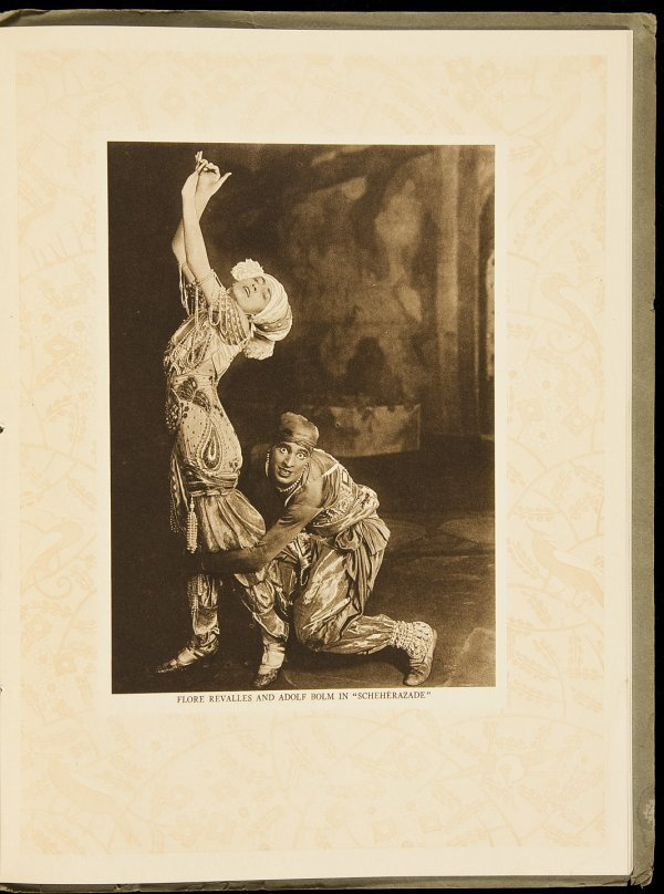 23: Souvenir Serge de Diaghileff's Ballet Rouse 1916