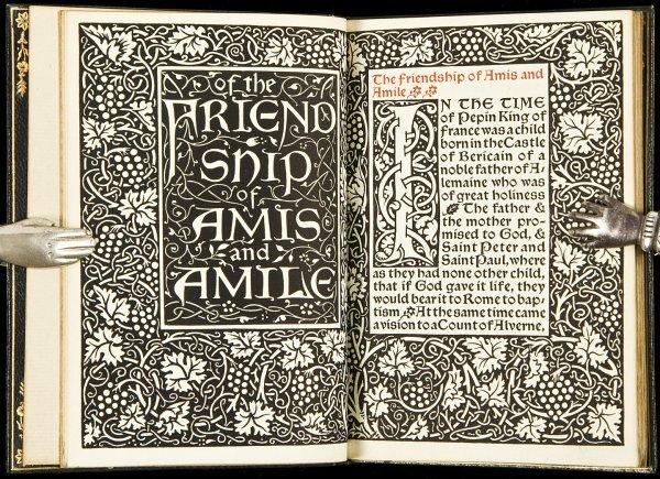127: Kelmscott Press Amis and Amile 1/500