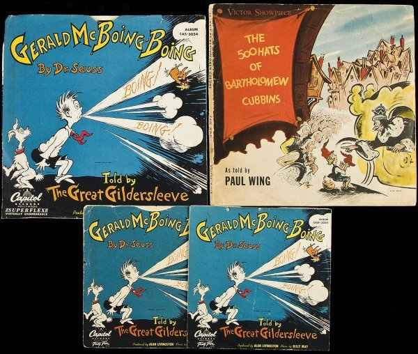 6: 4 musical records from Dr. Seuss stories