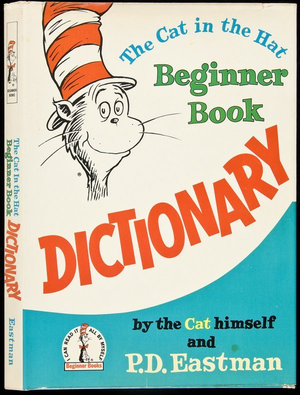 19: Cat in the Hat Dictionary 1st in dj Dr. Seuss