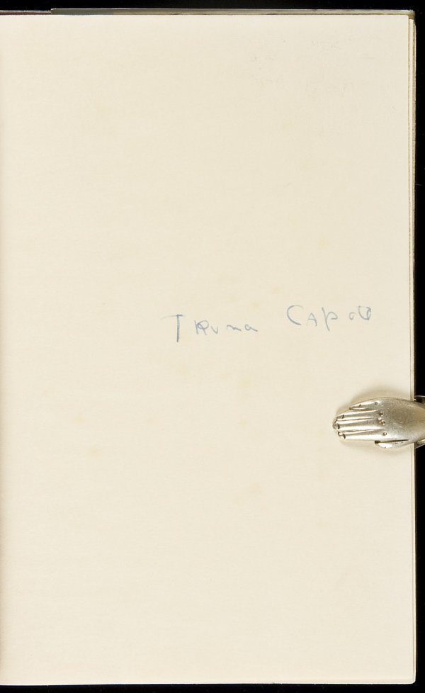 92: Truman Capote, In Cold Blood, 1st Ed. in dj